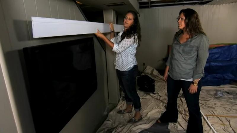 si vous avez un cran plat accroch au mur vous devez. Black Bedroom Furniture Sets. Home Design Ideas