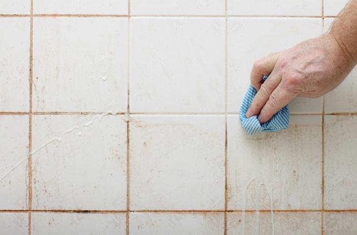 j'avais l'habitude d'éviter de nettoyer la douche, mais cette ... - Enlever Calcaire Carrelage Salle De Bain