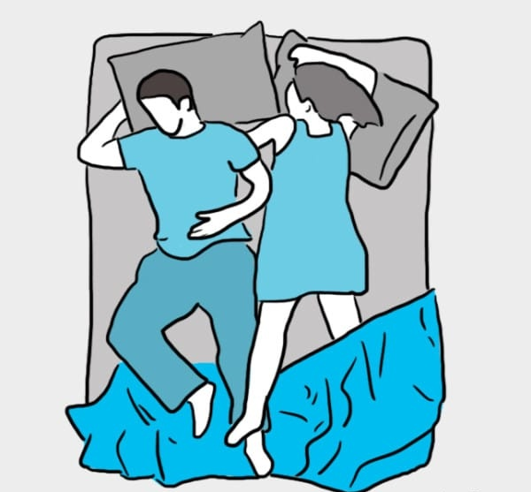 The way you sleep reveals about your relationship
