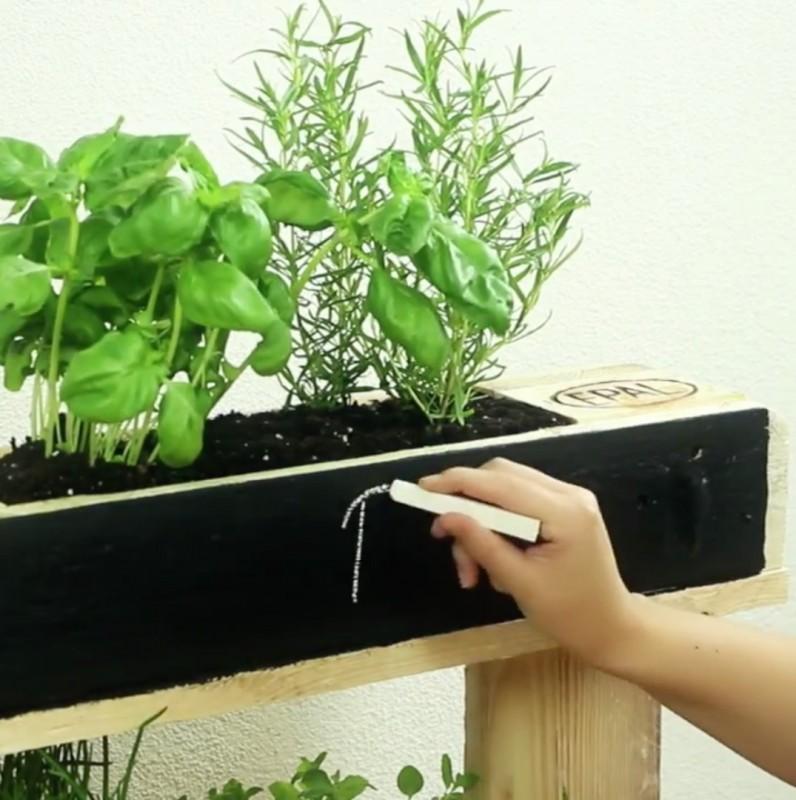 Creez Une Jardiniere Originale Avec Une Palette