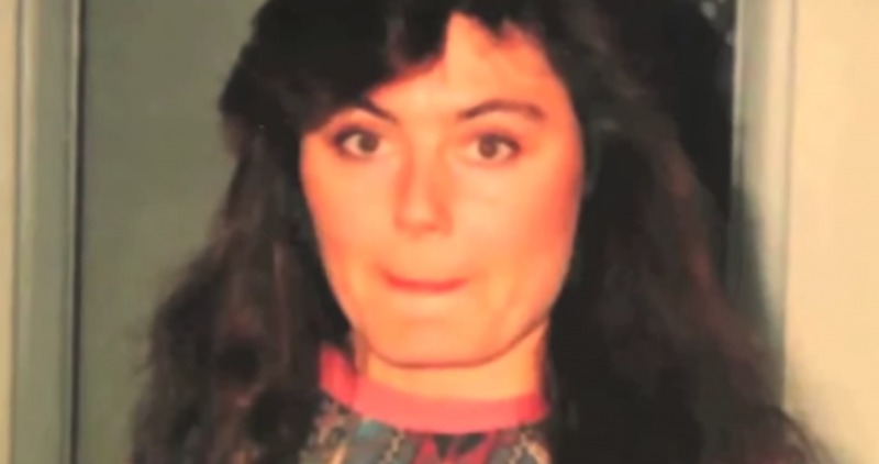 Connie Culp avant son agression et sa greffe du visage