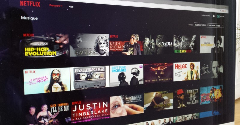 Netflix Browse Selection