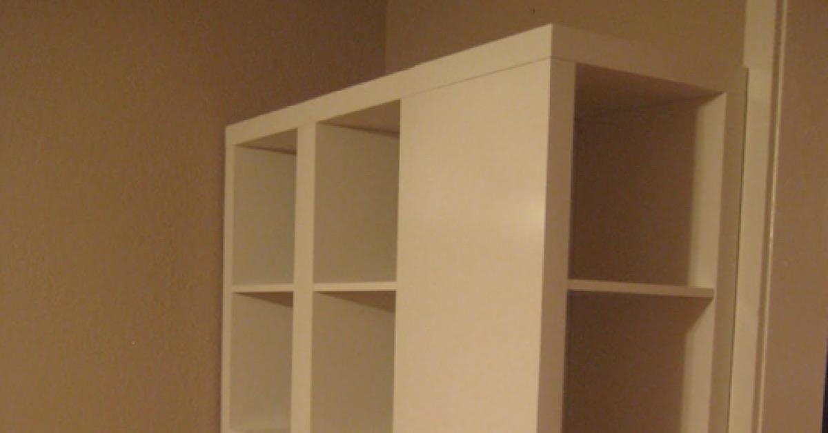 voici comment donner du cachet une tag re ikea toute simple. Black Bedroom Furniture Sets. Home Design Ideas