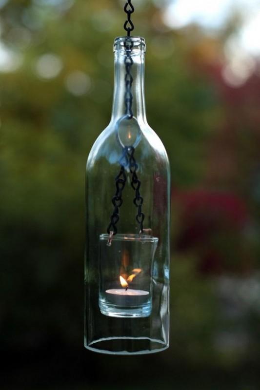 porte-bougies suspendus