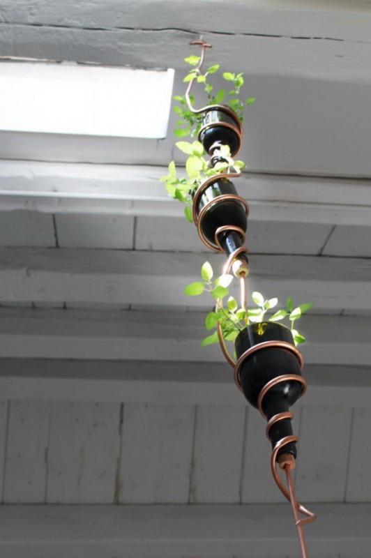 pot de fleurs trois en un