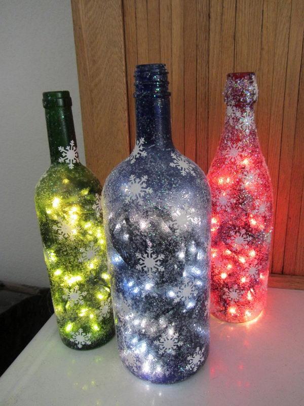 lampes aux couleurs de Noël