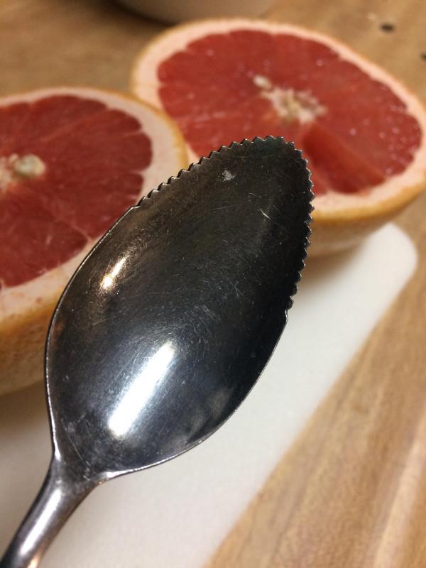 cuillère pour les pamplemousses