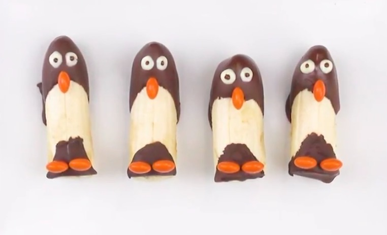 bananes pingouins
