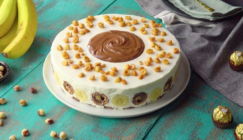 décorer le gâteau