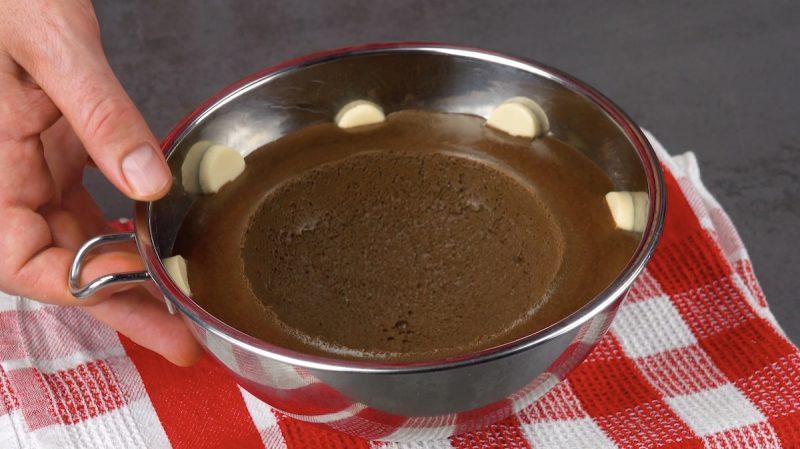 retirer le saladier du pudding