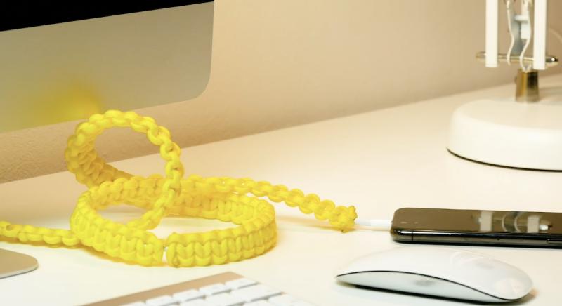 nœuds pour embellir les câbles