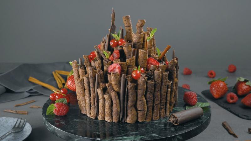 gâteau enchanté terminé