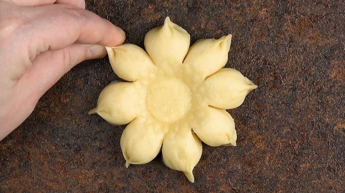 fleur pâte
