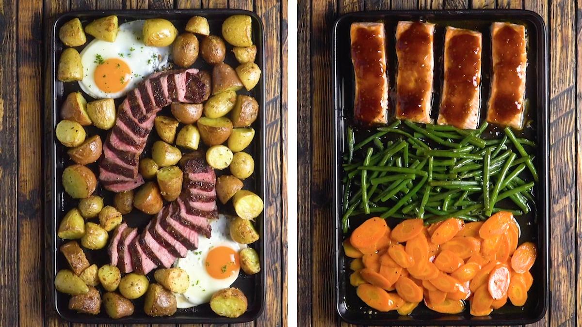 recettes simples et rapides à faire au four
