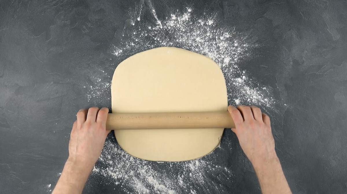 aplatir la pâte