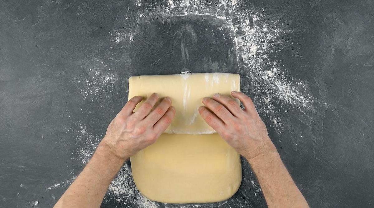 plier la pâte