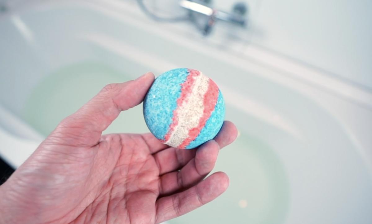 perle de bain faite maison
