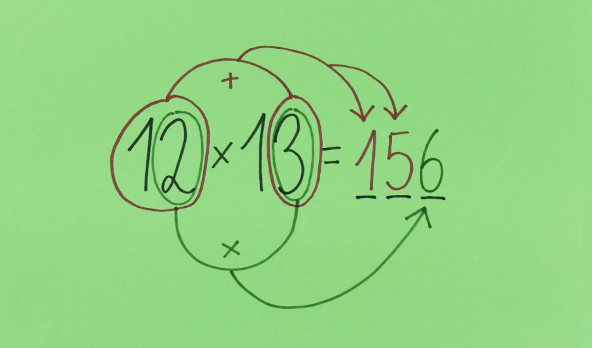 astuce pour multiplier facilement de 10 à 19
