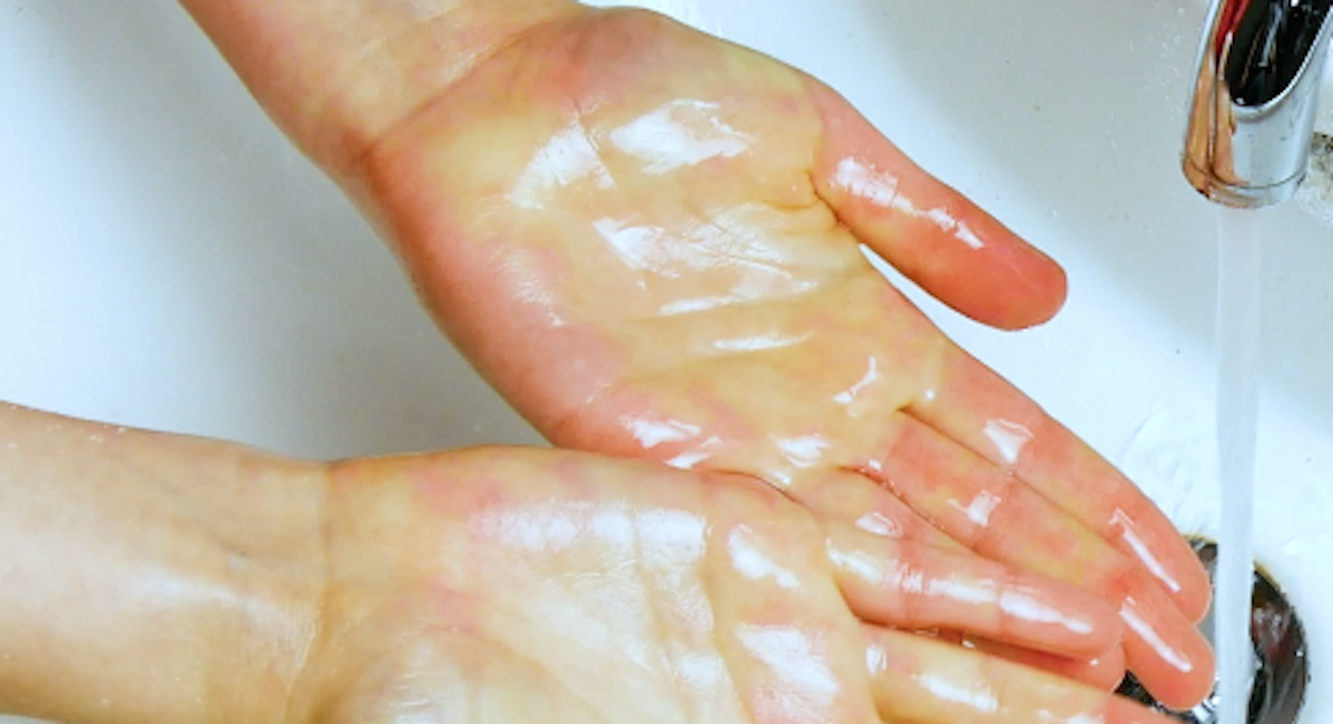 mains propres