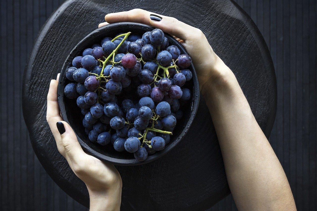 grappes de raisins