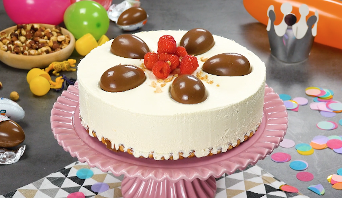 cheesecake aux kinder surprise
