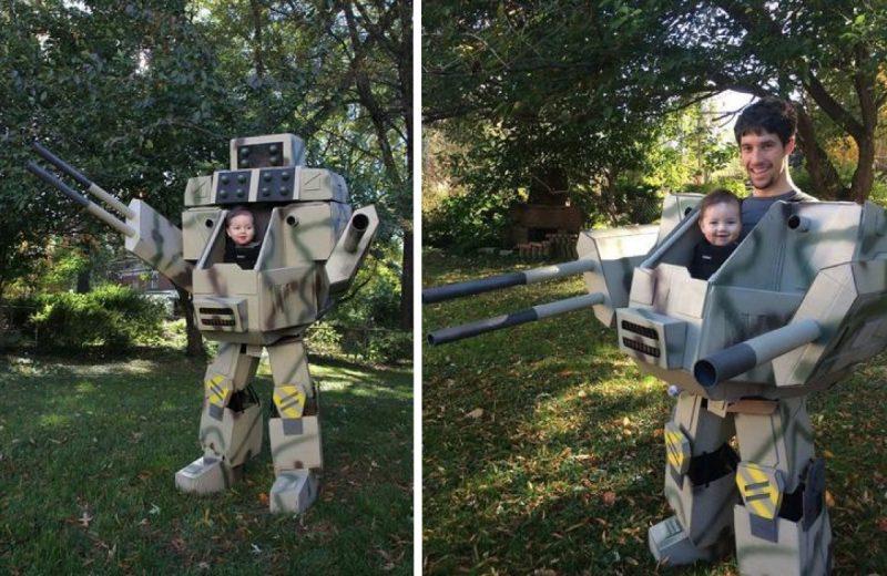 déguisement robot