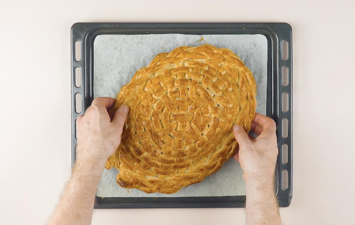 laisser la pâte feuilletée refroidir complètement
