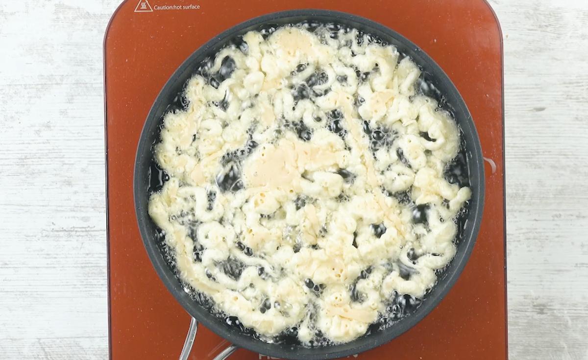 faire frire la pâte