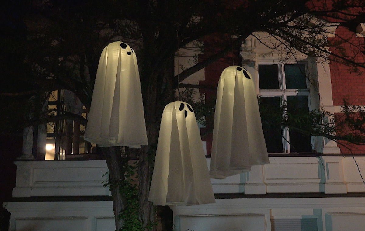 luminous ghosts