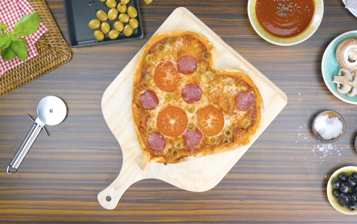 Cœurde pizza