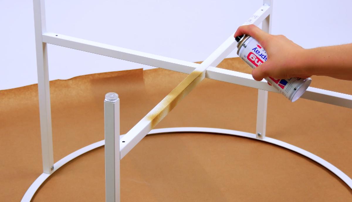 peindre la table