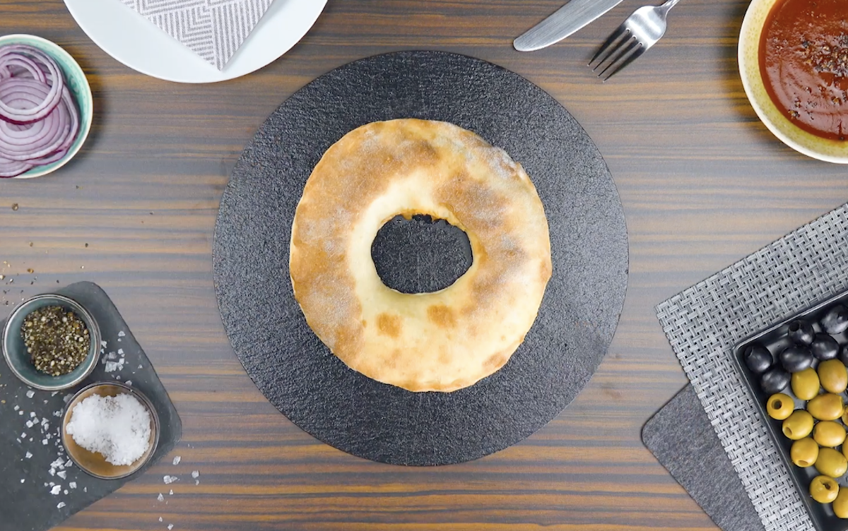 Pizza-donut