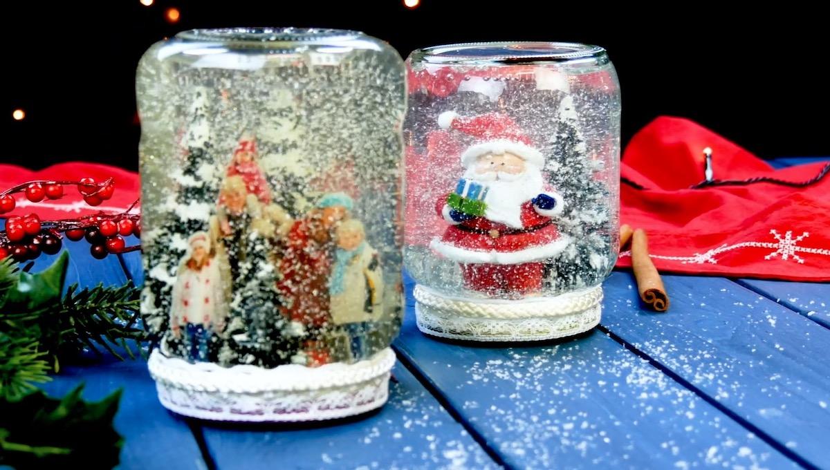 boules à neige diy