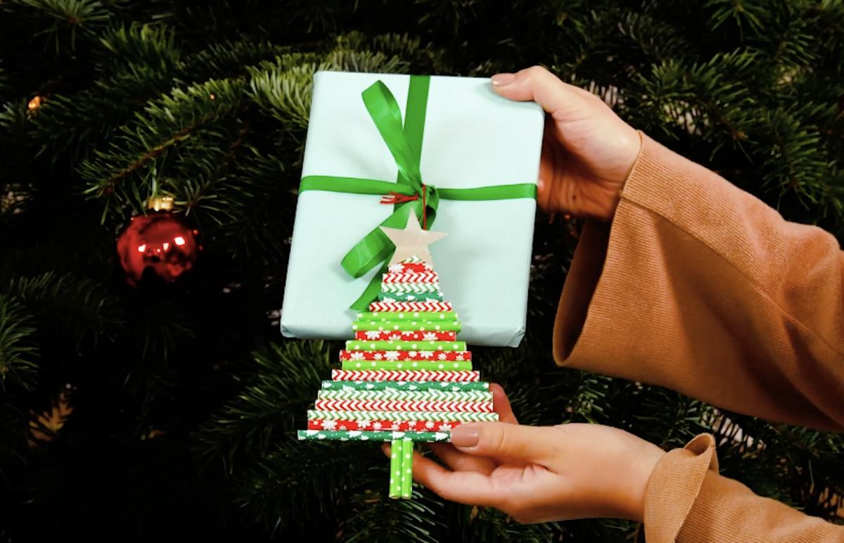 étiquette pour cadeau