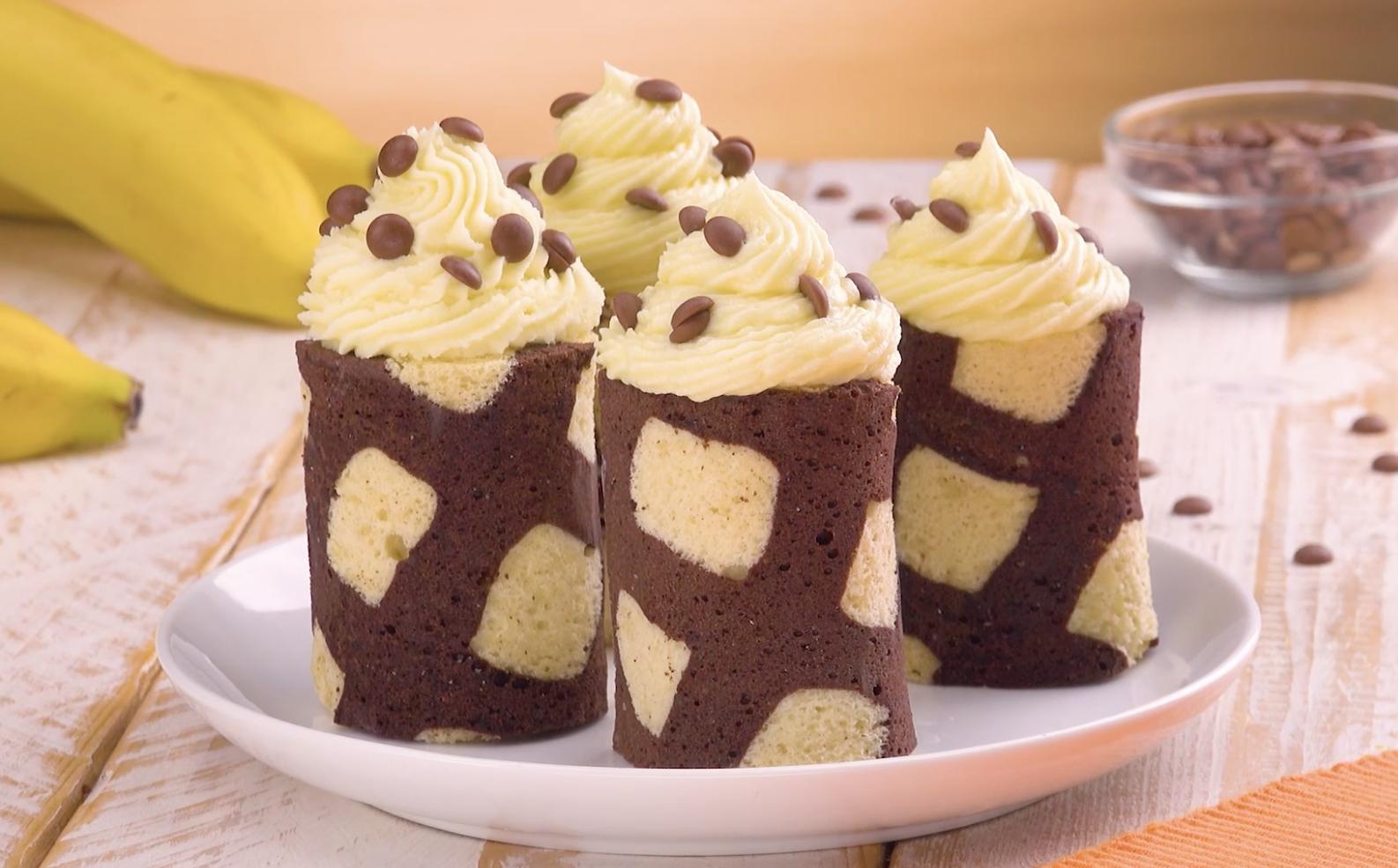 mignardises choco-banane