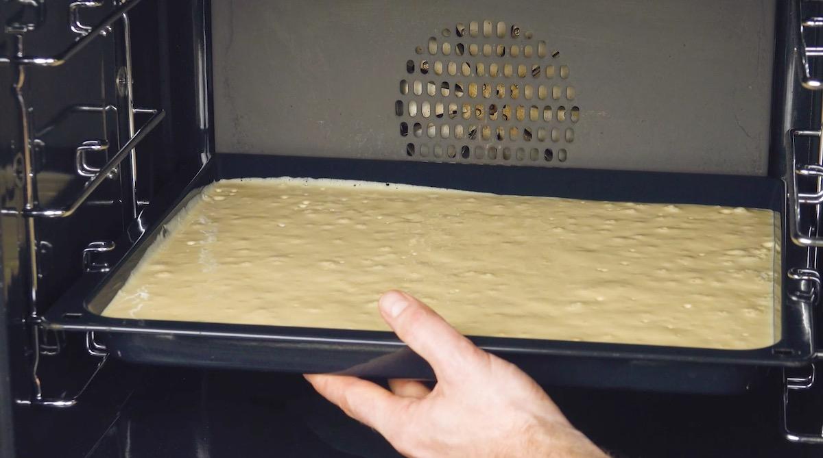faire cuire la pâte au four