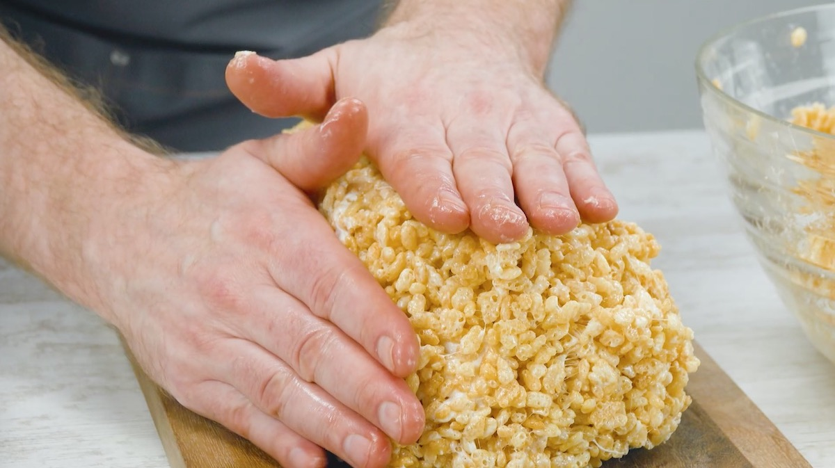 couvercle en rice krispes
