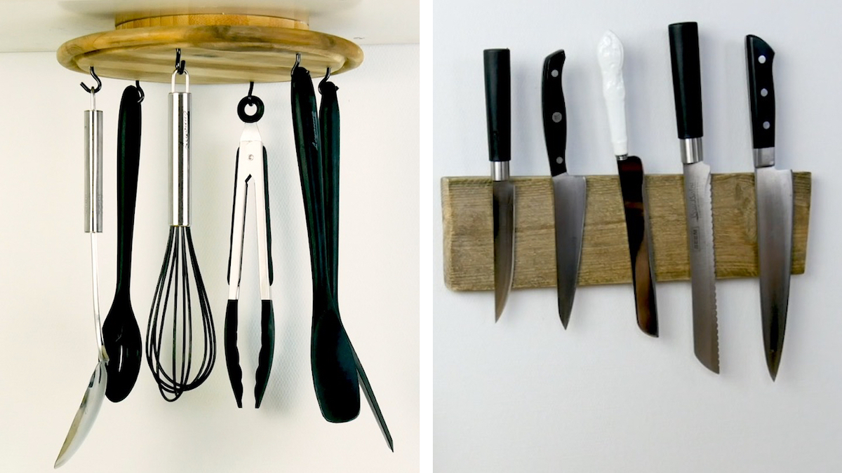 Ideas with wood that bring order to the kitchen