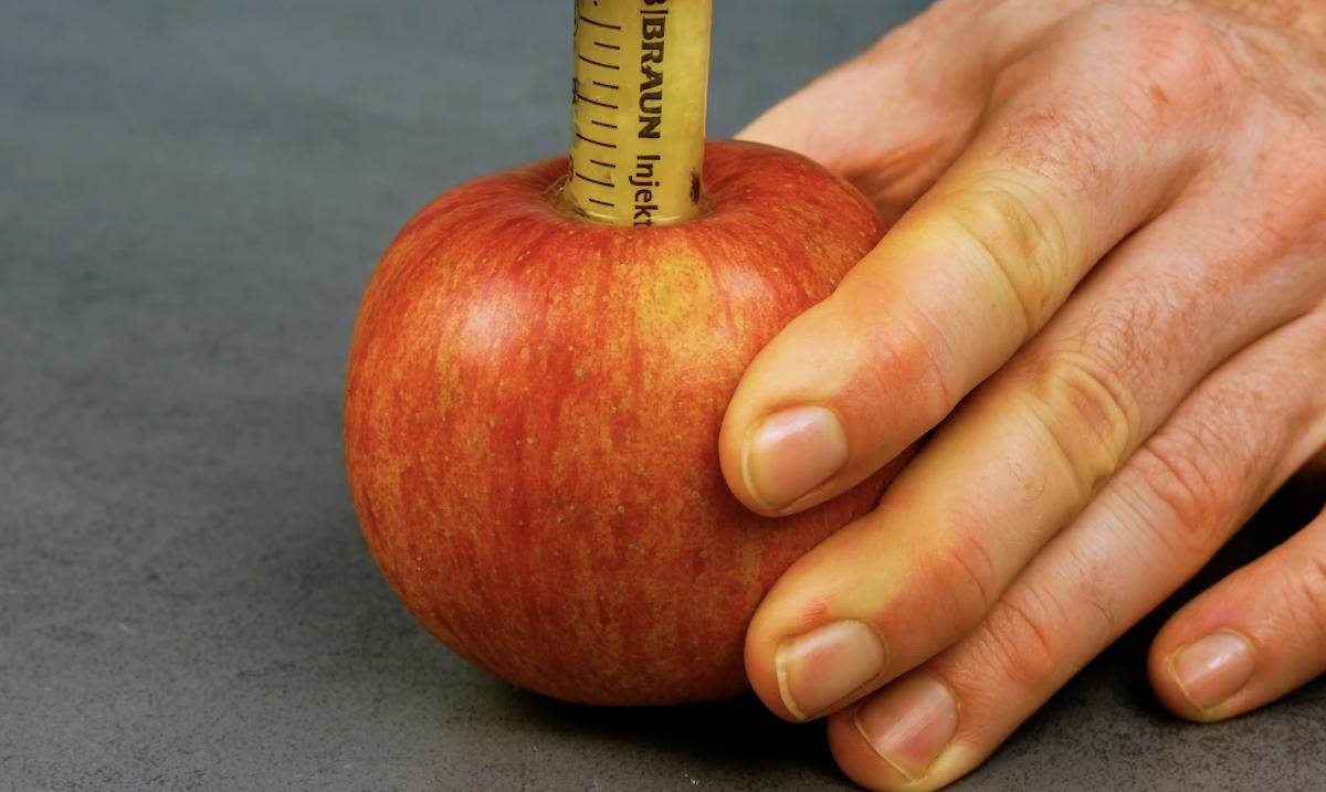Épépiner une pomme
