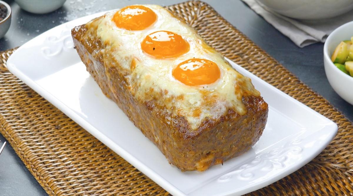 pain de viande cuit
