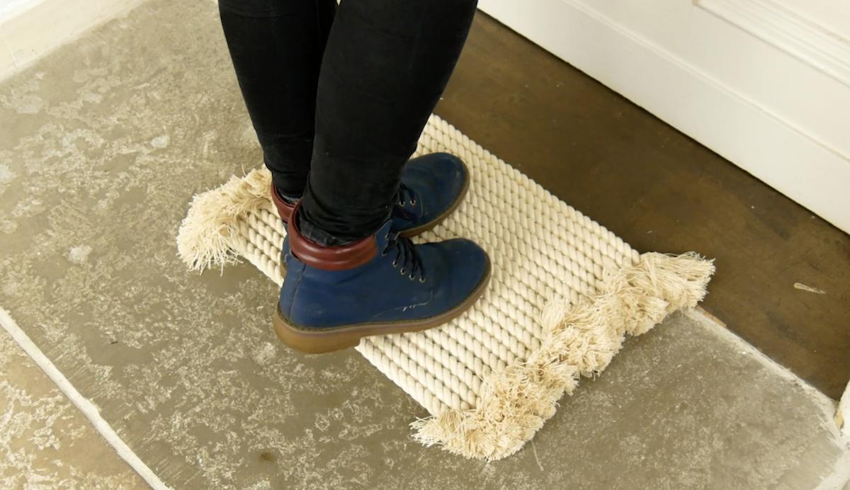 Home made doormat