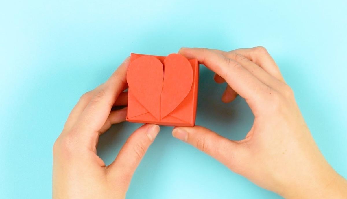 boite en forme de cœur