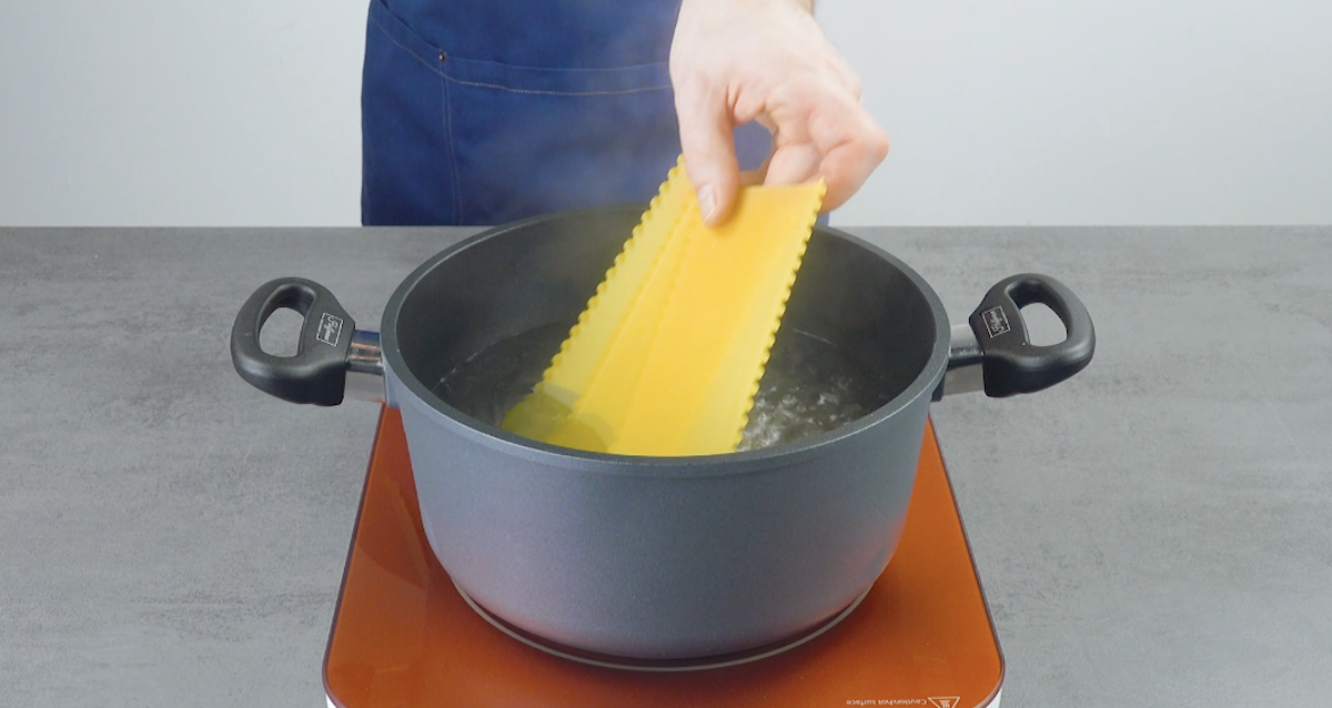 faire cuire les feuilles de lasagnes