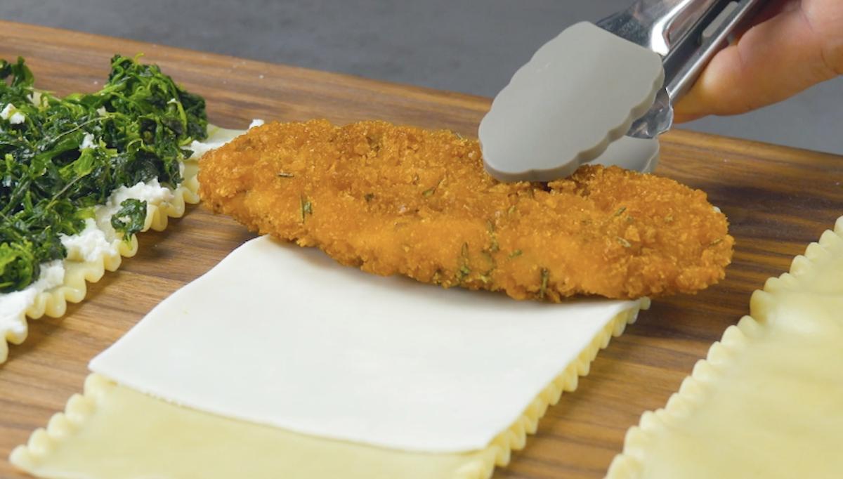 faire cuire le blanc de poulet pané