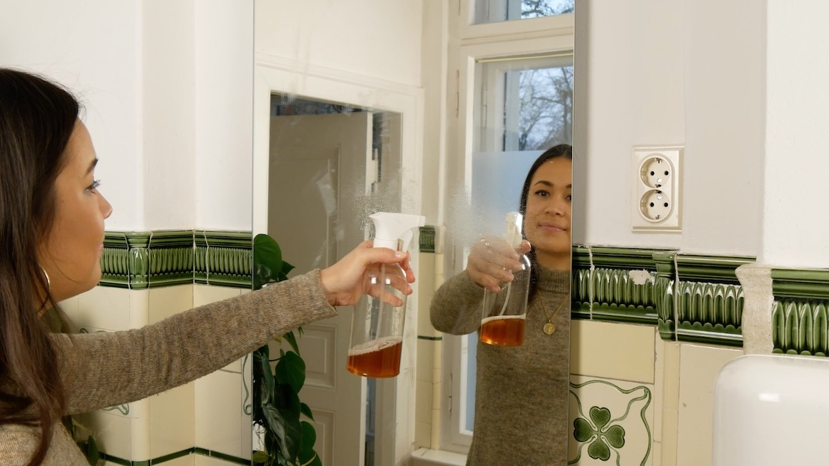 Nettoyant pour vitres fait maison