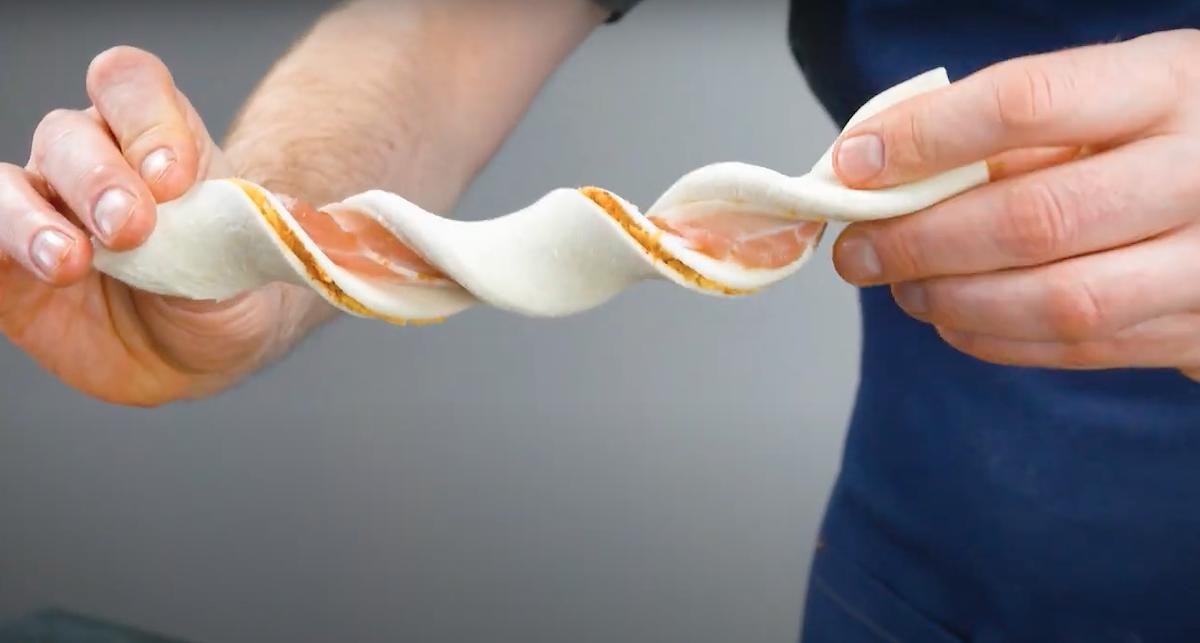 tresser la pâte