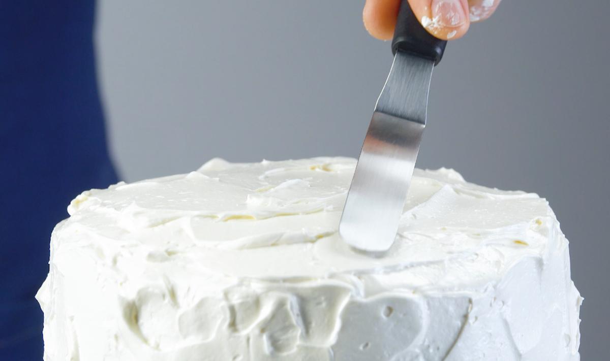 recouvrir le gâteau de ganache