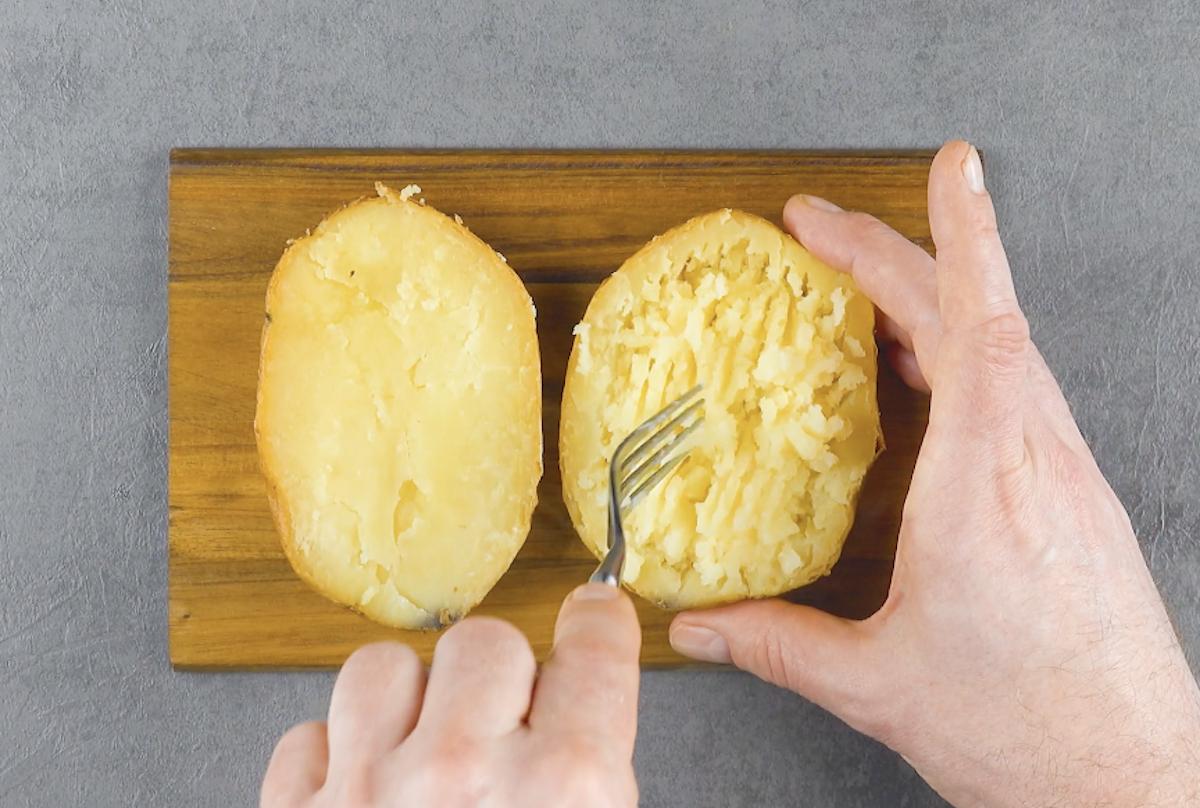 faire cuire une pomme de terre au four
