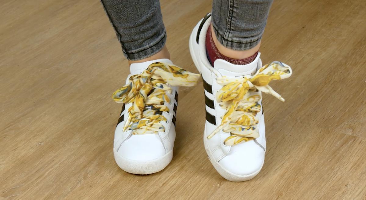lacets pour baskets chics recyclés