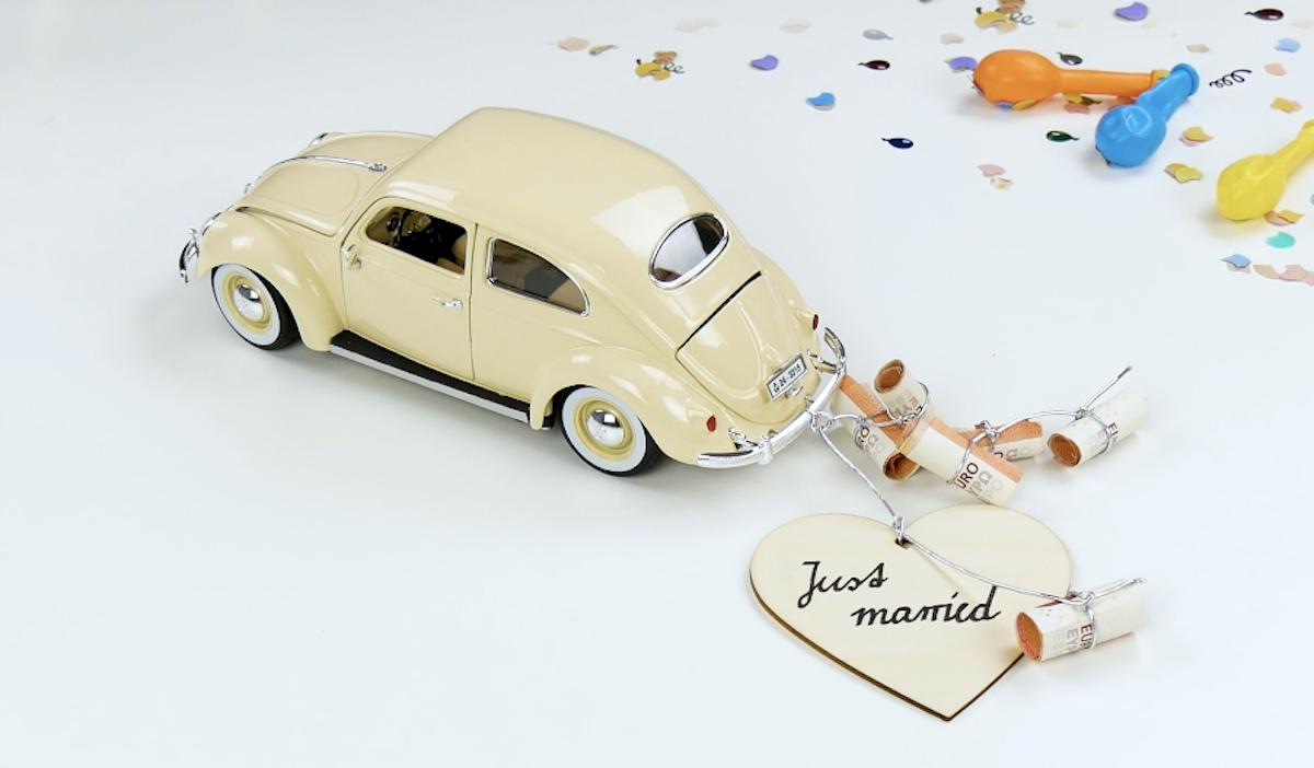 Cadeau de mariage pour offrir de l'argent